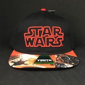 NWT Star Wars Youth SnapBack Hat Disney Kids